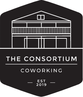The Consortium - Square logo with text
